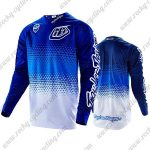 2016 TLD Motocross MTB Racing Jersey Blue White