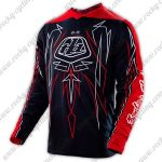 2016 TLD Motocross Racing Jersey Black Red