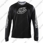 2016 TLD Motocross Racing Jersey Black White