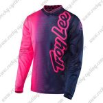 2016 TLD Motocross Racing Jersey Pink Black