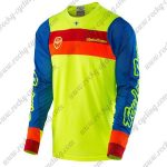 2016 TLD Motocross Racing Jersey Yellow Blue