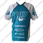 2016 YETI FOX Motocross MTB Apparel Racing Jersey Shirt Blue White