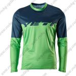 2016 YETI Motocross MTB Outfit Off Road Jersey Blue Green