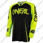 2017 ONEAL Motocross MTB Apparel Off Road Jersey Yellow Black