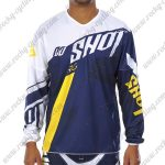 2017 SHOT Motocross MTB Apparel Off Road Jersey Blue White