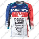 2017 YETI FOX Motocross MTB Apparel Off Road Jersey Blue Red White