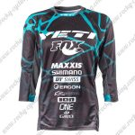 2017 YETI FOX Motocross MTB Clothing Off Road Jersey Black