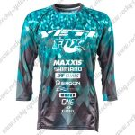 2017 YETI FOX Motocross MTB Clothing Off Road Jersey Blue Black
