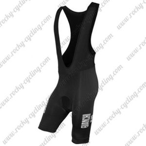 2016 Team BIANCHI Cycling Bib Shorts Bottoms Black