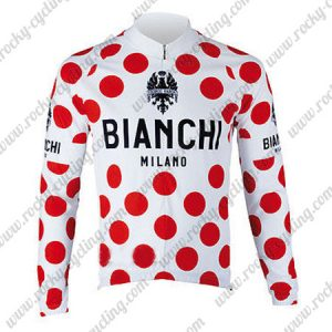 2017 Team BINACHI Tour de France Cycling Long Jersey Polka Dot