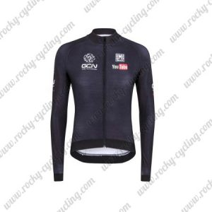 2017 Team GCN Cycling Long Jersey Black