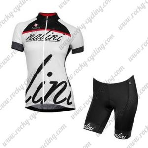 2017 Team Nalini Women's Biking Kit Black White