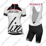 2017 Team Nalini Women's Cycling Bib Kit Black White