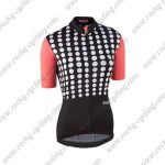 2017 Team Nalini Women's Cycling Jersey Maillot Shirt Black Red
