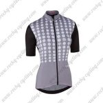 2017 Team Nalini Women's Cycling Jersey Maillot Shirt Grey