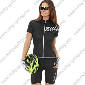 2017 Team Nalini Women's Cycling Kit Black
