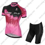 2017 Team Nalini Women's Racing Kit Pink Black
