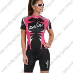 2017 Team Nalini Women's Racing Kit Pink Black White