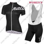 2017 Team Nalini Women's Riding Bib Kit Black