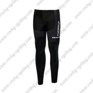 2017 Team ORBEA Cycling Long Pants Tights Black