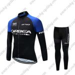 2017 Team ORBEA Cycling Long Suit Black Blue