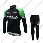 2017 Team ORBEA Cycling Long Suit Black Green