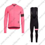 2017 Team Rapha Cycling Long Bib Suit Pink