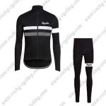 2017 Team Rapha Cycling Long Suit Black White Grey