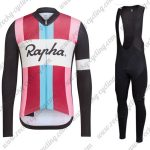 2017 Team Rapha Mens Cycling Long Bib Suit