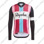 2017 Team Rapha Mens Cycling Long Jersey Shirt