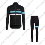 2017 Team Rapha Riding Long Suit Black Blue White