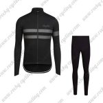 2017 Team Rapha Riding Long Suit Black Grey