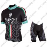 2017 Team BIANCHI Biking kit Black Grey