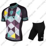 2017 Team BIANCHI Racing kit Black Blue Grey