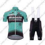 2017 Team Bianchi COUNTERVAIL Cycling Bib Kit Blue Black
