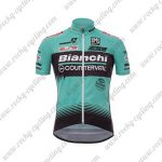 2017 Team Bianchi COUNTERVAIL Cycling Jersey Maillot Shirt Blue Black