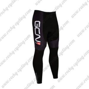 2017 Team GCN Biking Long Pants Tights Black