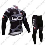2017 Team GCN Riding Long Suit Black Grey