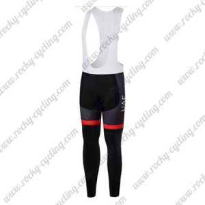 2017 Team UAE Fly Emirates Cycling Bib Pants Tights Black Red