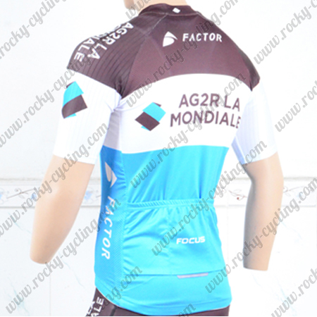 54ada4a4f 2018 Team AG2R LA MONDIALE Cycle Apparel Riding Jersey Tops Maillot ...