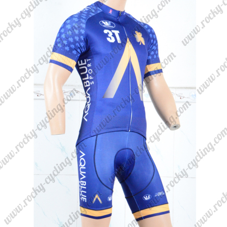 ... Summer Winter Cycle Jersey and Padded Shorts Pants. 2018 Team AQUABLUE  Cycling Kit 6ff2e5723