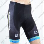 2018 Team ASTANA Cycling Shorts Bottoms Black Blue