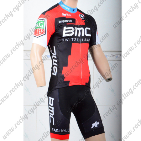2018 Team BMC Biking Outfit Summer Winter Cycle Jersey and Padded ... 80044d97a