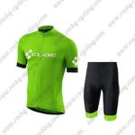 2018 Team CUBE Biking Kit Green