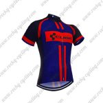 2018 Team CUBE Cycling Jersey Maillot Shirt Black Blue Red