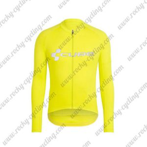 2018 Team CUBE Cycling Long Jersey Yellow