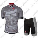 2018 Team Castelli Biking Kit Grey