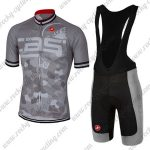 2018 Team Castelli Riding Bib Kit Grey