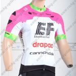 2018 Team EF drapac cannondale Cycling Jersey Shirt Pink White