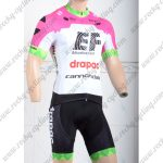 2018 Team EF drapac cannondale Cycling Kit Pink White